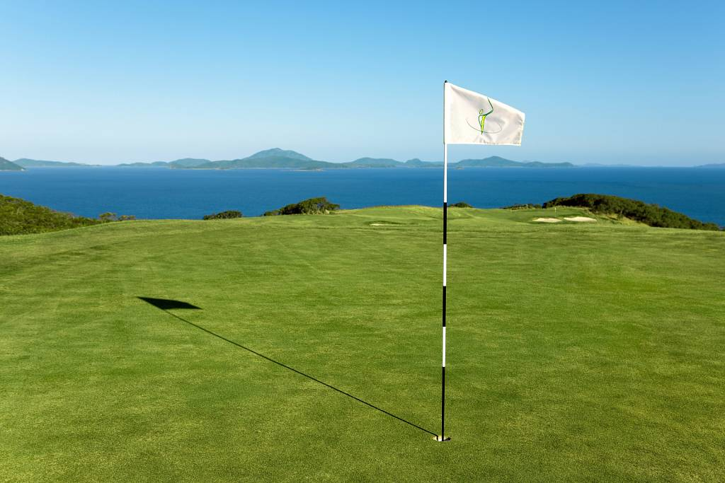 Hamilton Island Golf Club - 14th Hole Flag