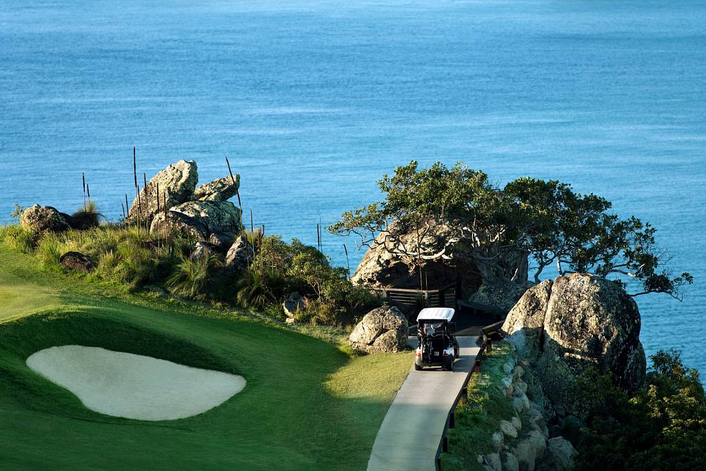Hamilton Island Golf Club - 16th Hole Buggy