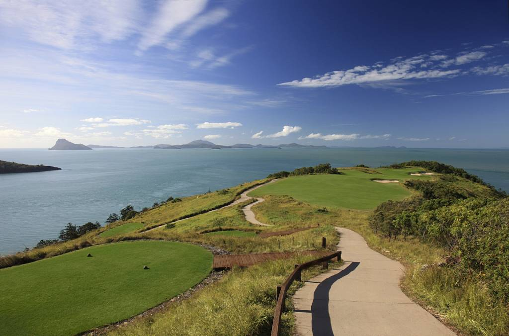 Hamilton Island Golf Club - 15th Tee High